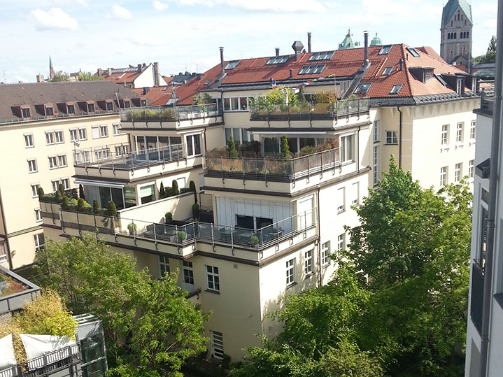 MANEUM Hausverwaltung GmbH Wohnimmobilie München Dachterrassen